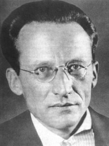 Erwin Schrödinger. Discussions of quantum foundations often seem to involve this fellow's much abused cat.