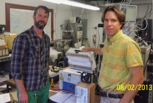 With Caltech scientist David Boyd
