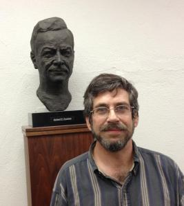 Mike Gottlieb at Caltech on 20 September 2013. He's the one on the right.