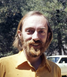 Kip Thorne in 1972, around the time MTW was completed.