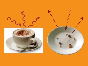 Coffee, crumbs