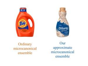 Detergent vs. softener