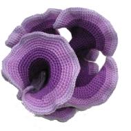 Negative curvature crochet (K <0)