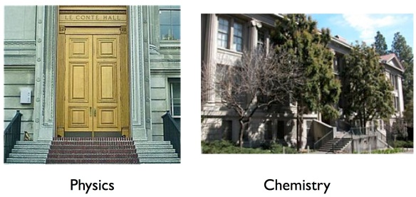 Phys. & chem. bldgs